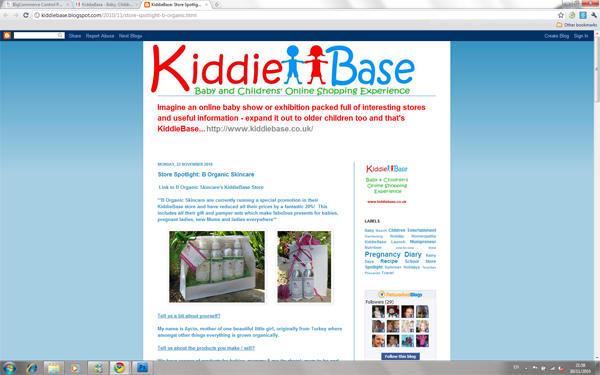 Kiddie Base Feature