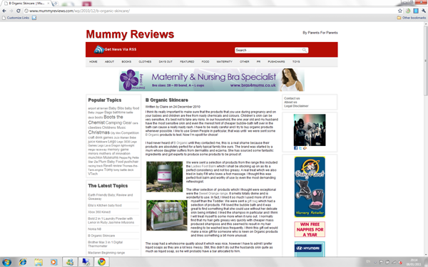 Mummy Reviews