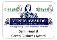 Venus Awards, 2012 - Semi Finalist, Green Business Award