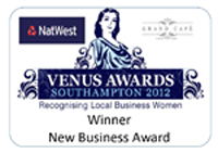 Venus Awards, 2012 - Winner, New Business Award