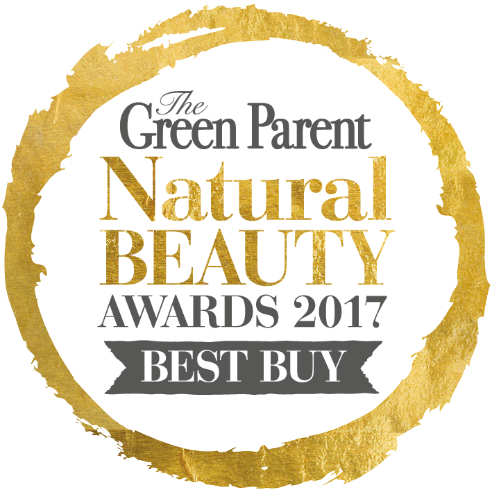 The Green Parent, Natural Beauty Awards Best Buy Gold Award 2017